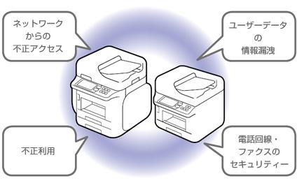 エプソン(EPSON)の複合機のセキュリティ