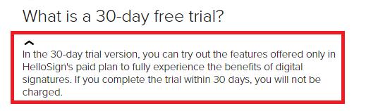 HelloFax(ハローファックス)の30日間無料トライアル